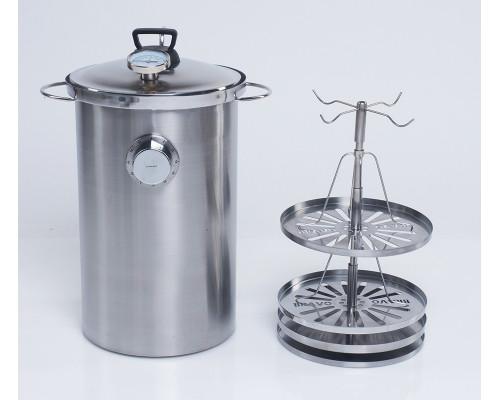 Коптильня горячего копчения BRAVO NEW 20 литров
