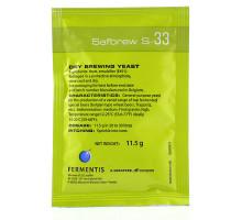 Дрожжи пивные Fermentis Safbrew S-33 11,5 гр.