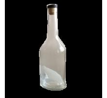 """Бутыль стеклянная  """"КОНЬЯК"""", 0,5 л"""