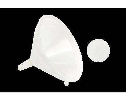 Воронка пластиковая с фильтром 21 см