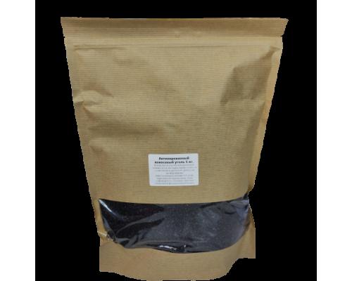 Уголь активированный кокосовый, 1 кг.