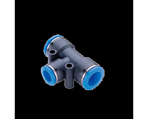 Тройник  под трубку 10 мм (быстросъемные соединения)