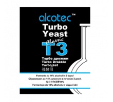 Дрожжи Alcotec  Turbo Yeast T3, 120 гр.