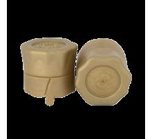 Полимерный колпачок для укупоривая бутылок с венчиком В28, B28-1, B28-2 (золото)