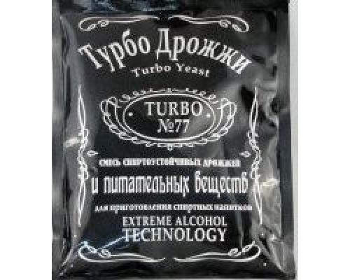 Дрожжи спиртовые Турбо 77 (120гр)