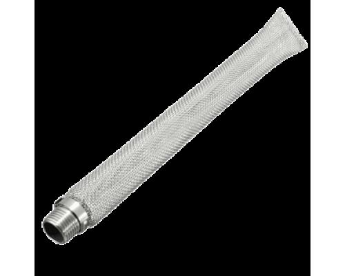 """Сетчатый фильтр """"Базука"""" 30 см, нержавеющая сталь 304 резьба 1/2"""