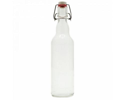 Бутылка под бугельную пробку 500 мл (светлая)