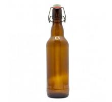 Бутылка под бугельную пробку 500 мл (темная)