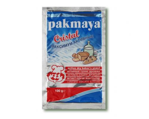 """Дрожжи сухие быстродействующие """"Pakmaya Crystal"""" 100 г"""