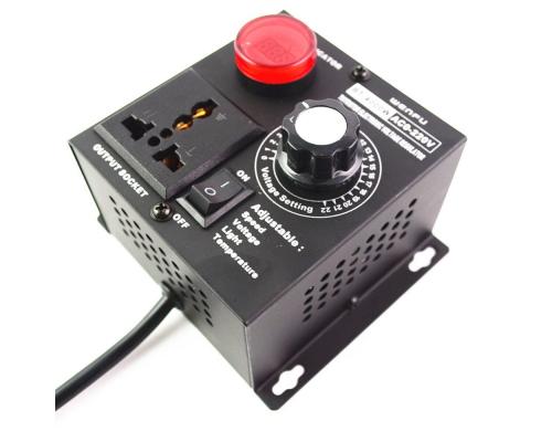 Регулятор напряжения 4кВт с дисплеем